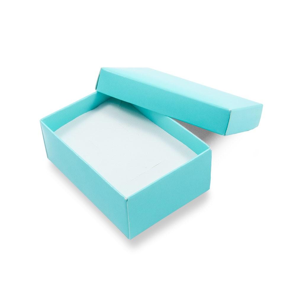 Caixa de Presente Turquesa Conjunto