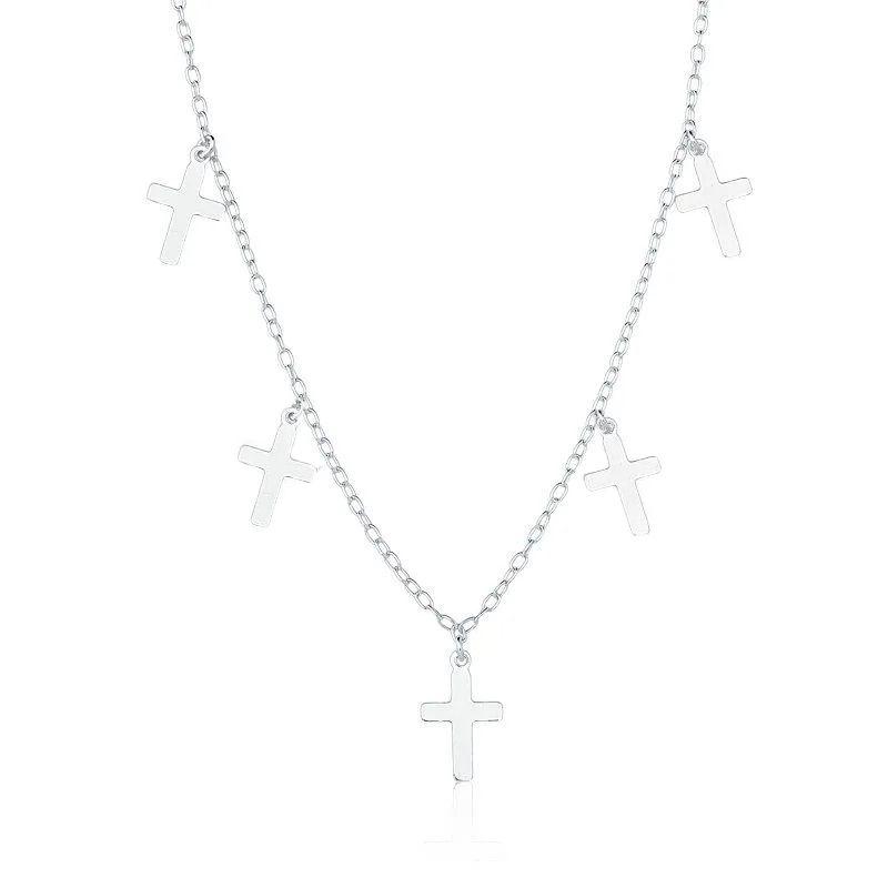 Choker Crucifixos