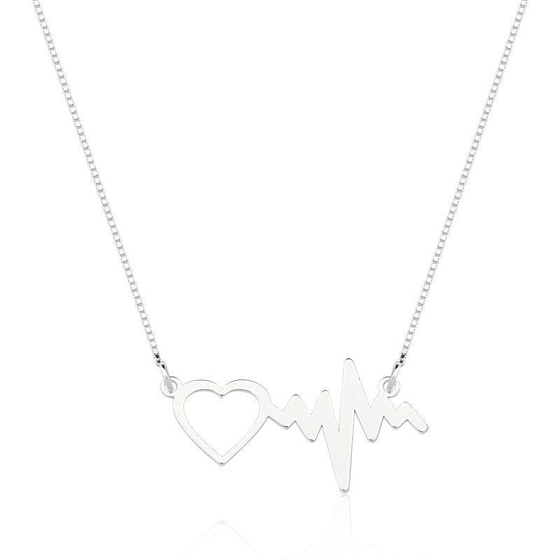 Colar Batimentos Cardíacos do Amor