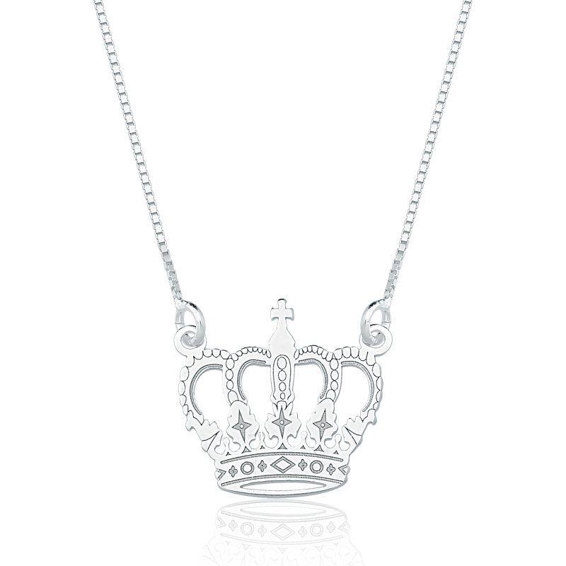 Colar Coroa Realeza P