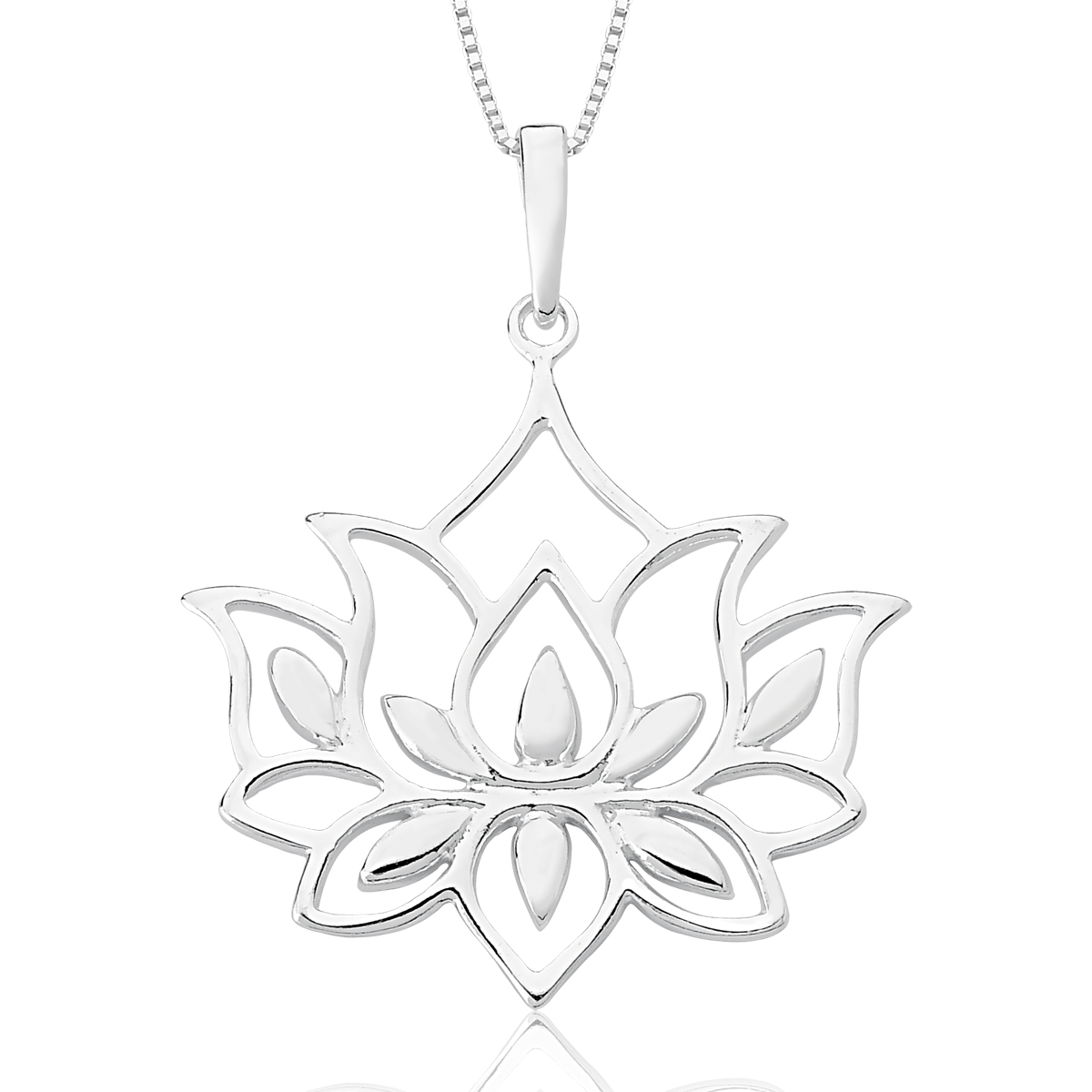 Colar Flor de Lotus G