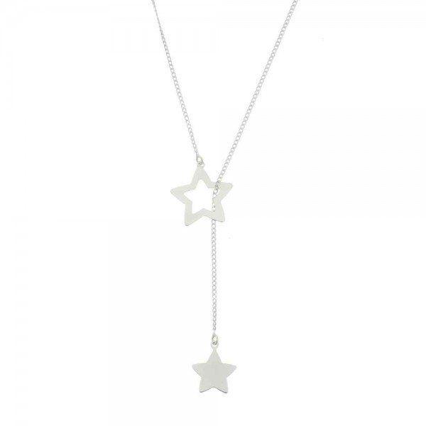 Colar Gravata Estrelas