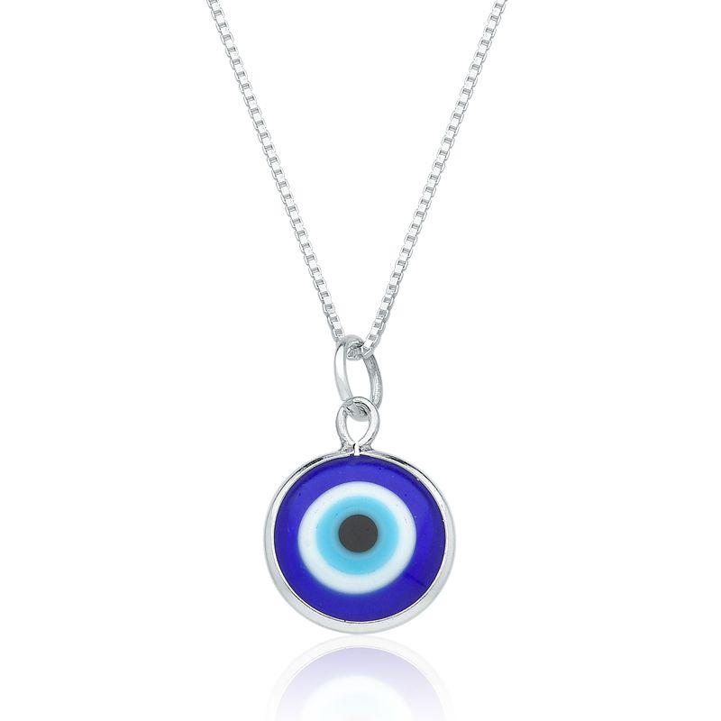Colar Olho Grego Azul