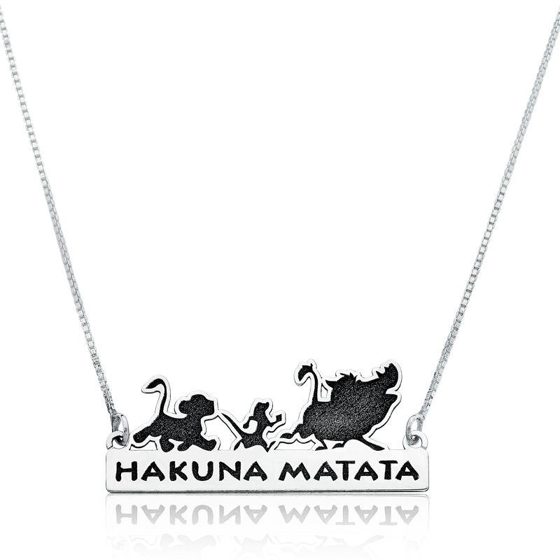 Colar Hakuna Matata - Rei Leão