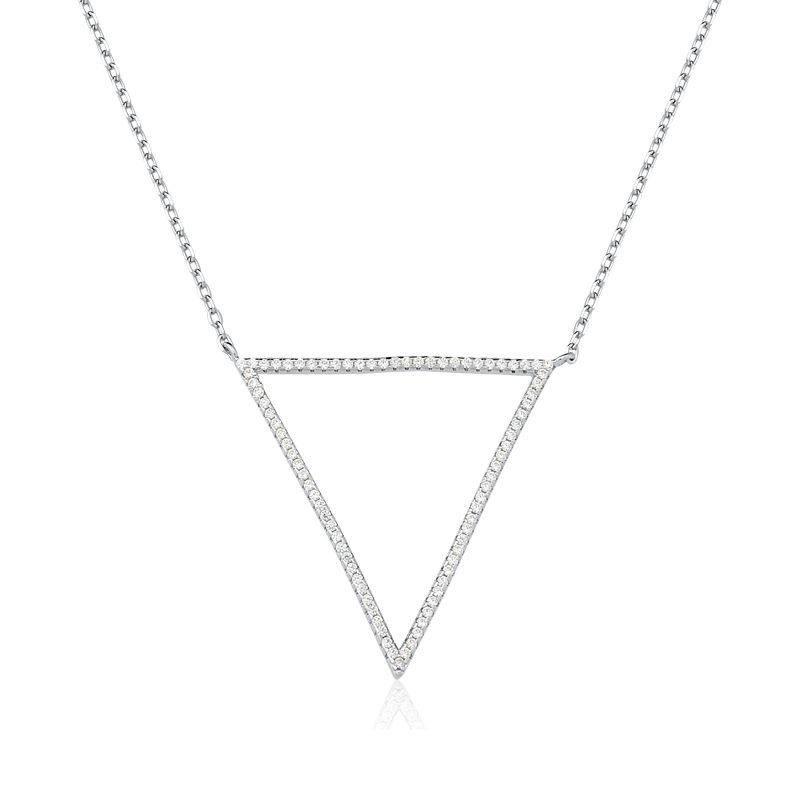 Colar Triangulo Vazado