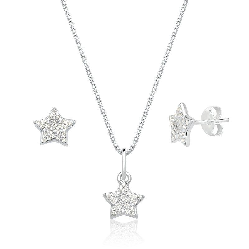 Conjunto Estrela Cravejada