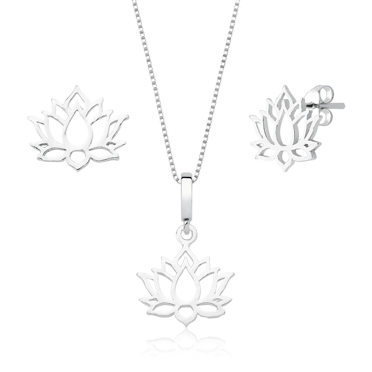 Conjunto Flor de Lótus - Florescer