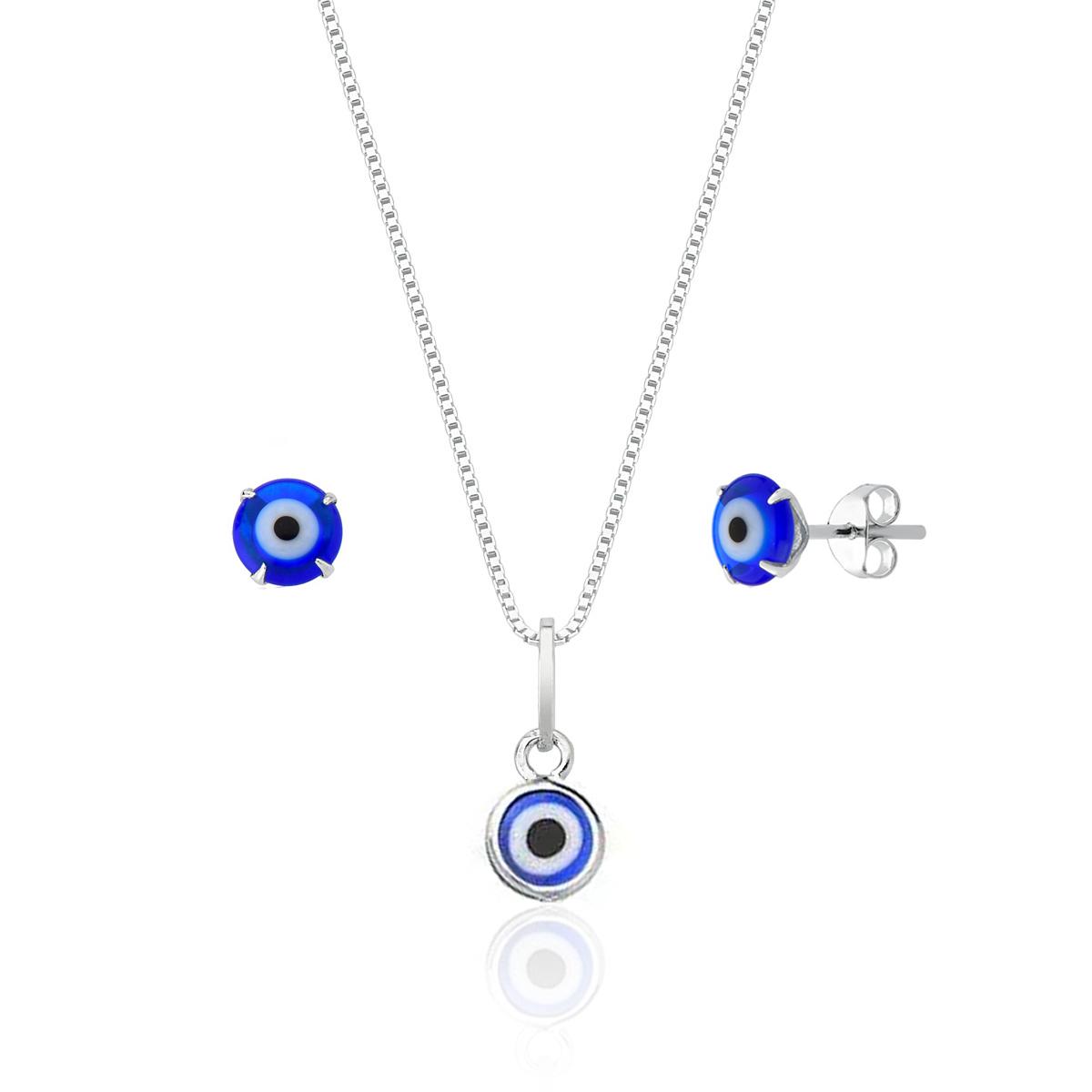 Conjunto Mini Olho Grego