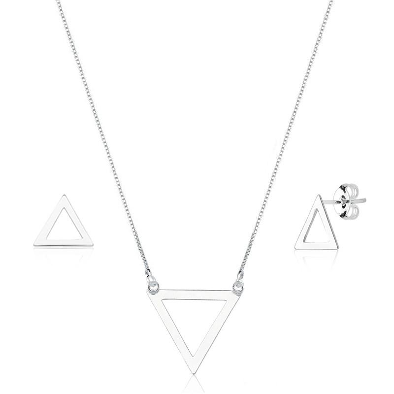 Conjunto Triângulo Vazado