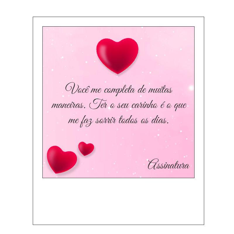 Cartão de Presente Amor