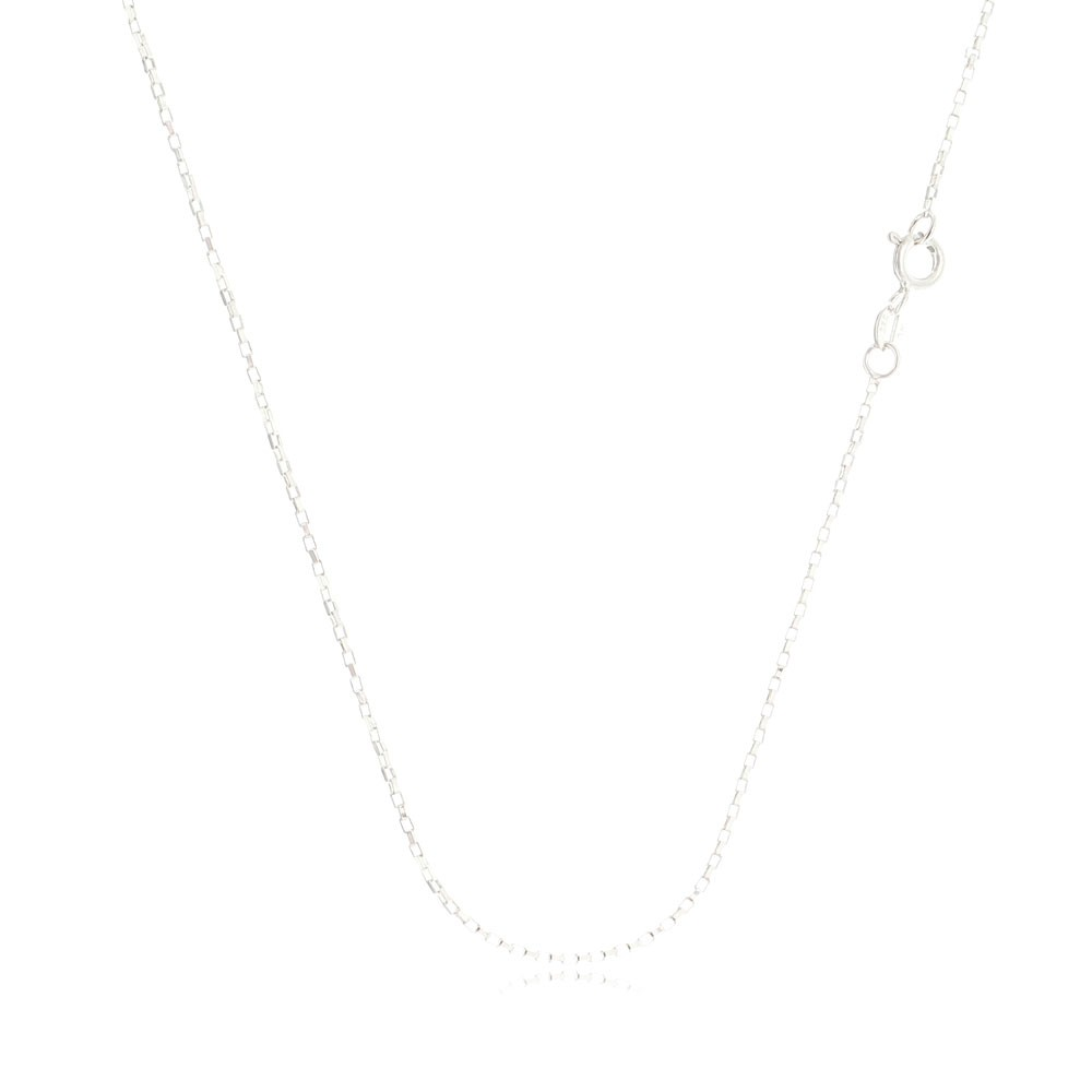 Corrente Feminina Cartier Quadrada 45 cm