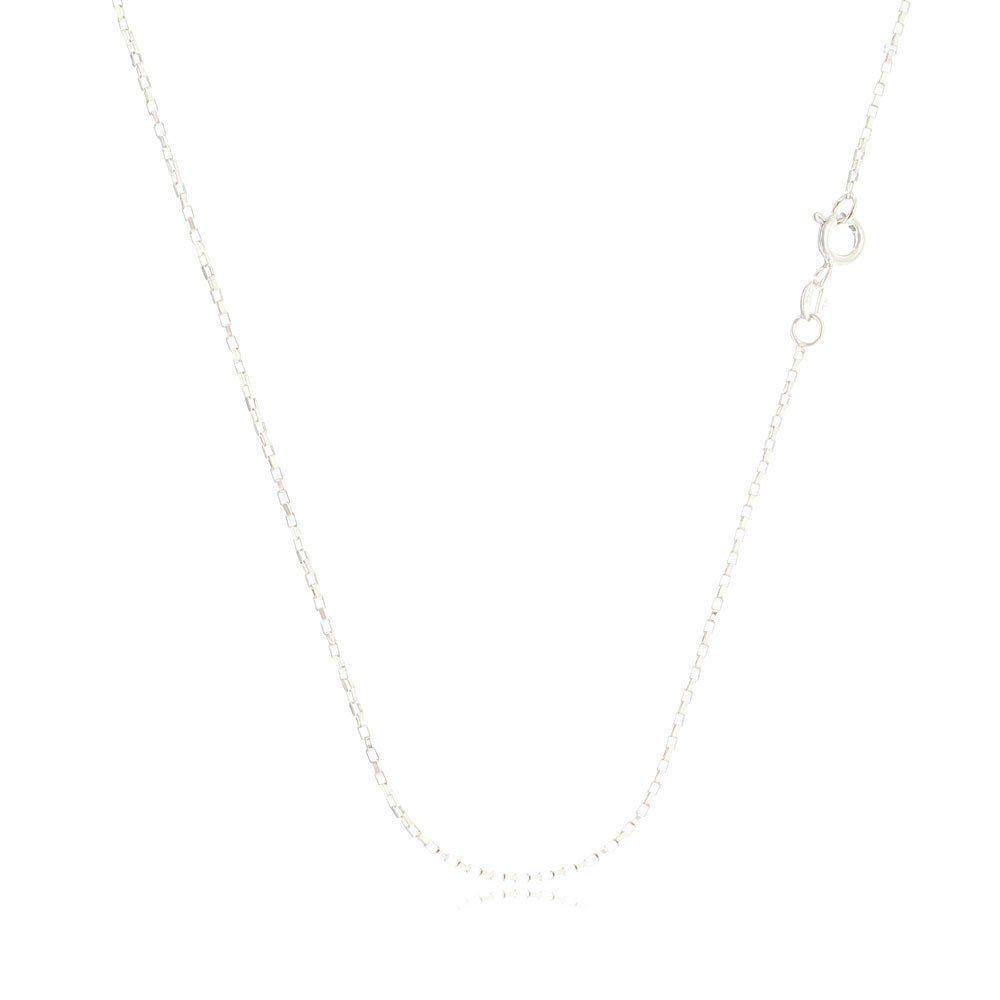 Corrente Feminina Cartier Quadrada 60 cm