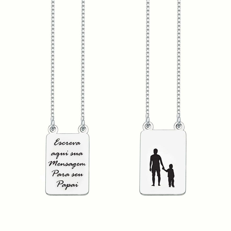 Escapulário Personalizado Pai e Filho