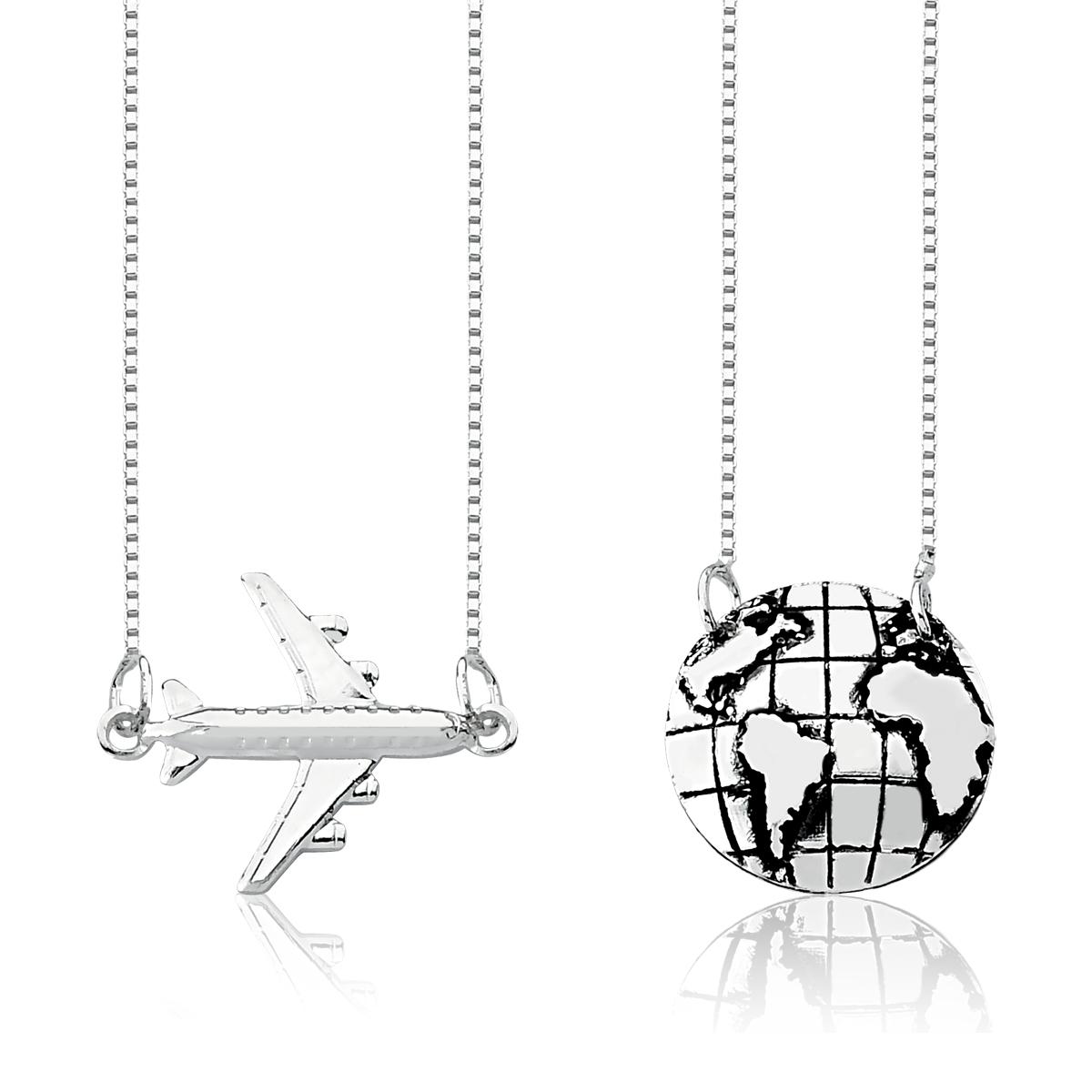 Escapulário Viajem ao Mundo