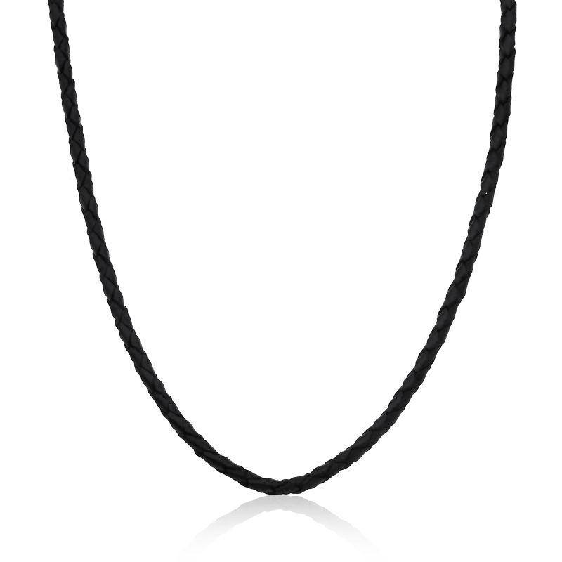 Gargantilha Couro 45 cm