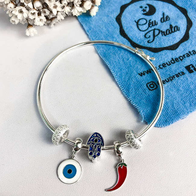 Berloque Kit Amuletos Olho Grego