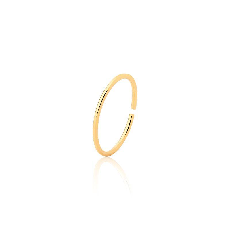 Piercing Argola Dourada 9 MM