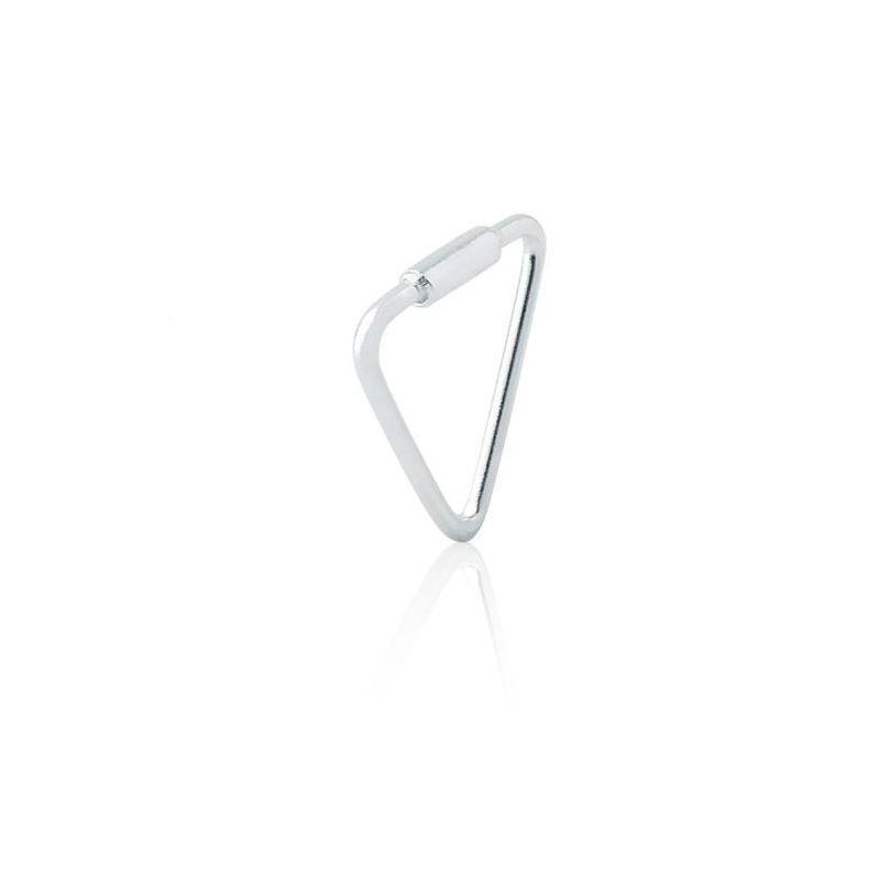 Piercing Argola Triângulo