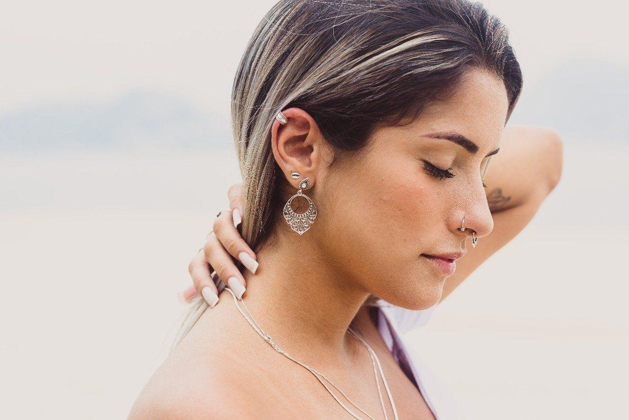 Piercing de Pressão Cartilagem