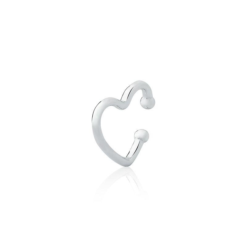Piercing De Pressão Cartilagem Coração I