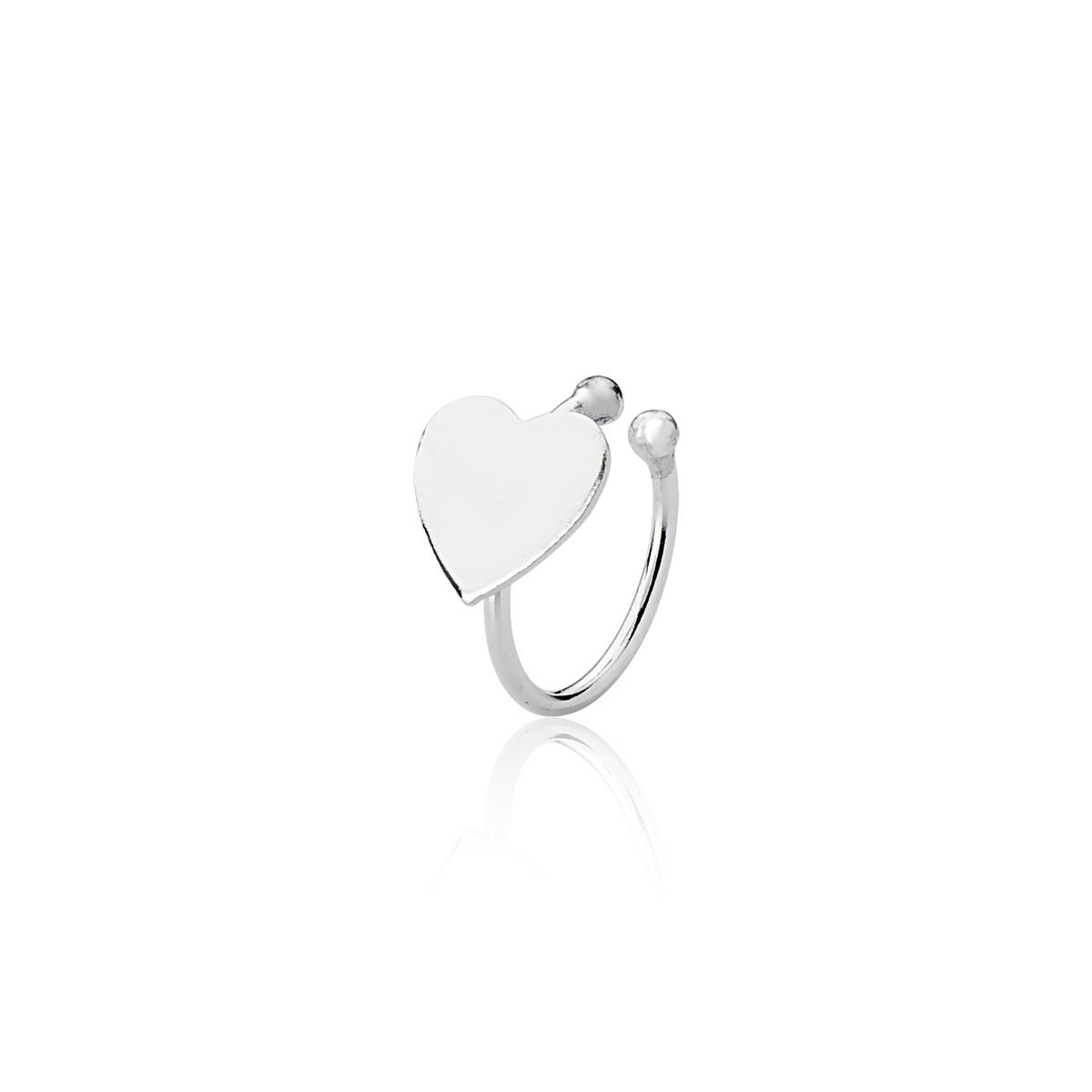 Piercing De Pressão Cartilagem Coração 9 MM