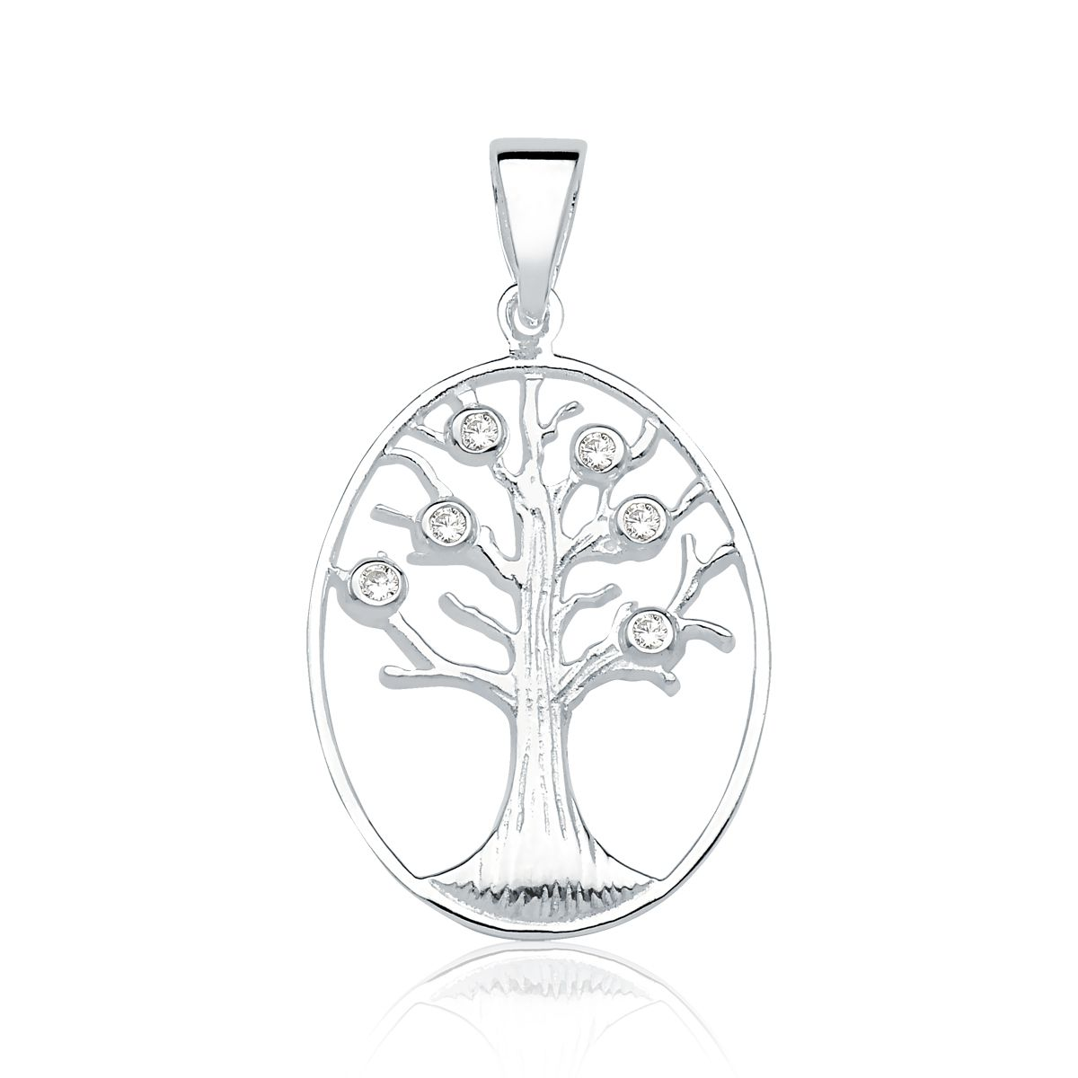 Pingente Árvore da Vida Brilhante