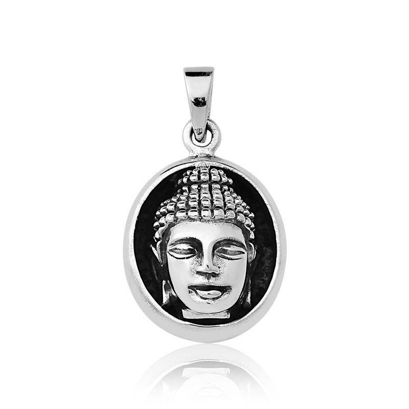 Pingente Cabeça do Buda Bali