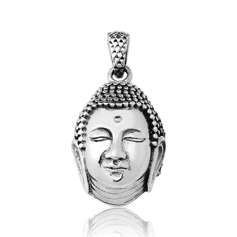 Pingente Cabeça do Buda Grande