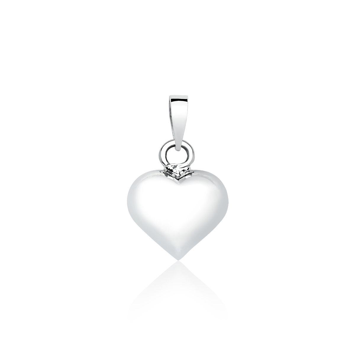 Pingente Coração Arredondado