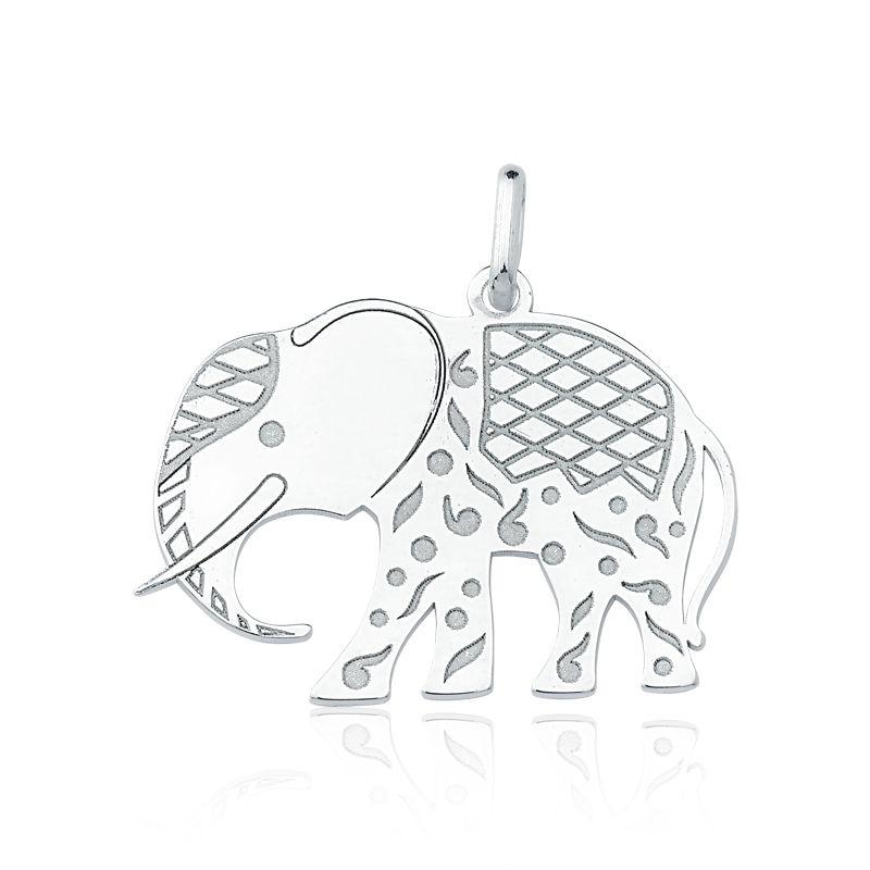 Pingente Elefante Asiático