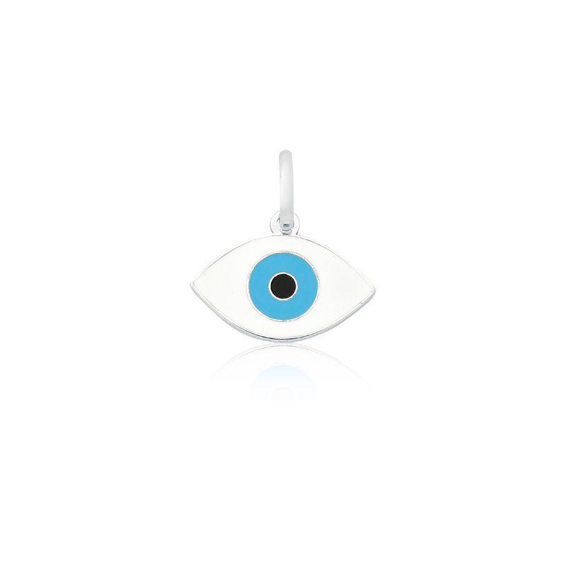 Pingente Olho Grego Branco