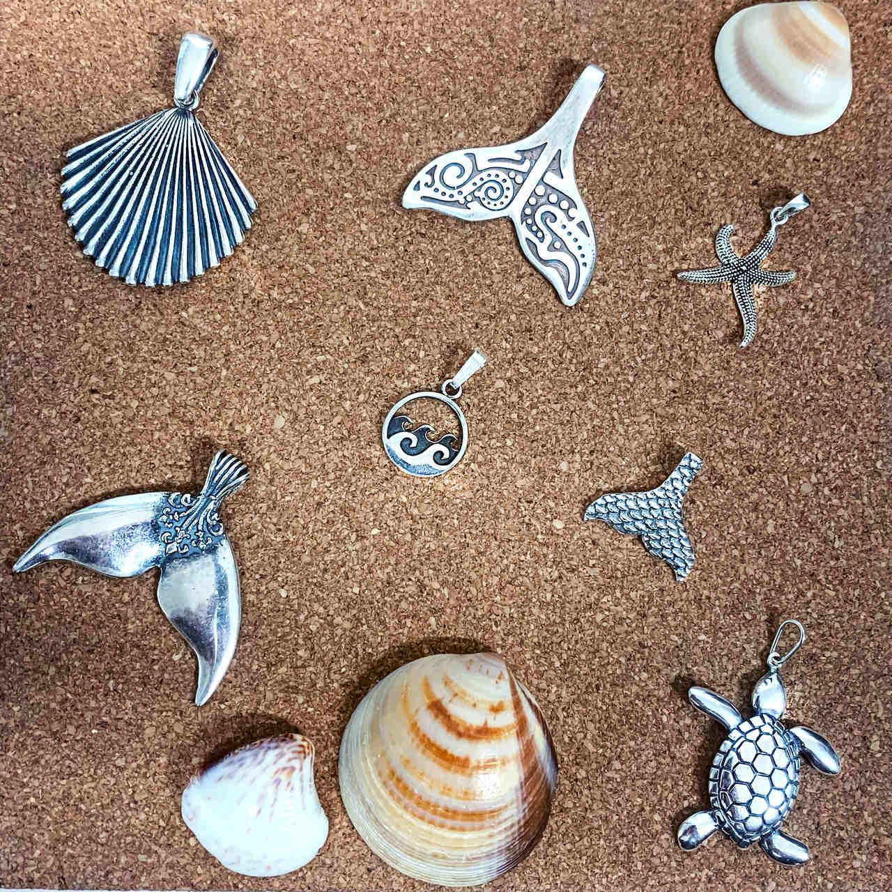 Pingente Ondas do Mar