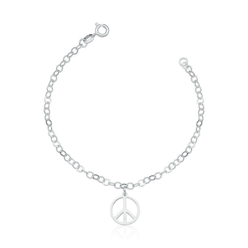 Pulseira Elos Símbolo da Paz