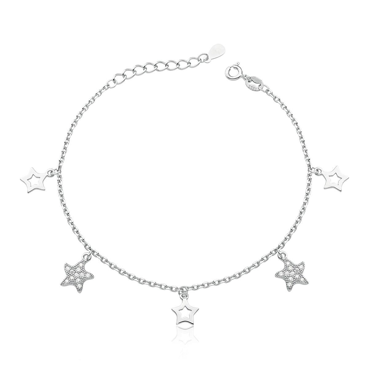 Pulseira Estrelas Rodinada