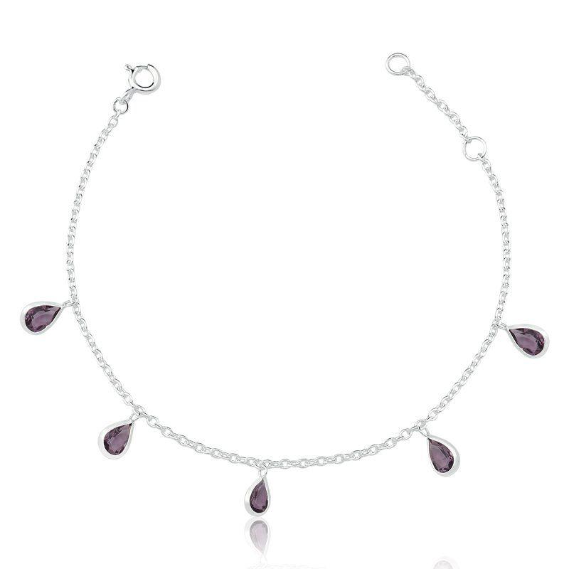 Pulseira Gotas Púrpura