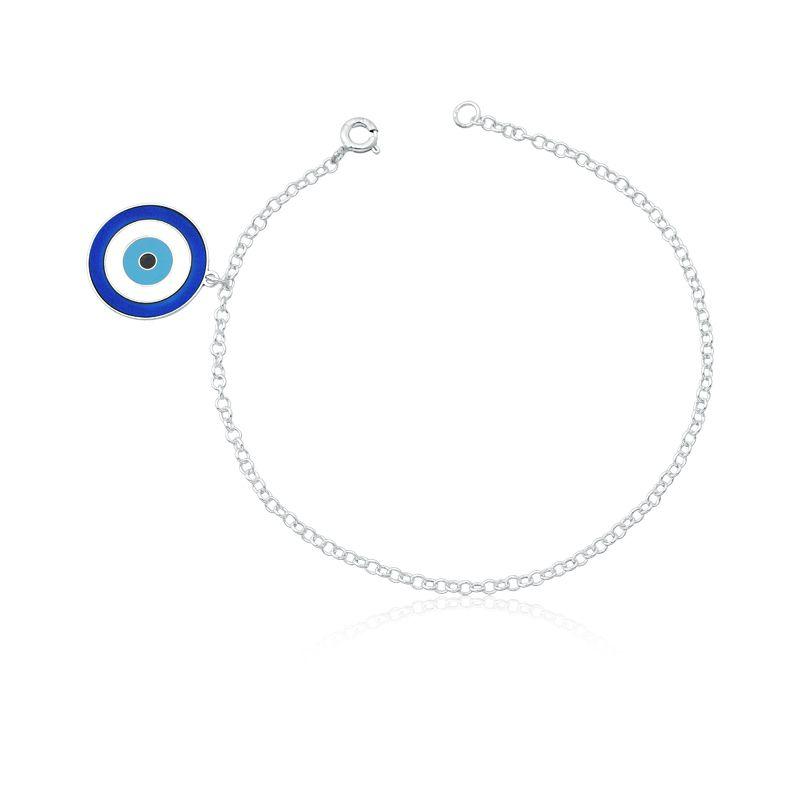 Tornozeleira Olho Grego Azul