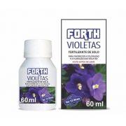 Adubo Fertilizante para Violetas - FORTH Violetas - 60ml - Faz 12 litros