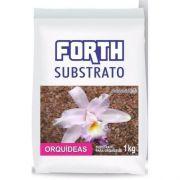 FORTH Substrato - Casca de Pinus e Fibra de Coco para Orquídeas - 1kg