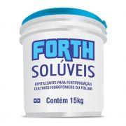 Adubo Fertilizante FORTH Solúveis - Produtivo - 15kg