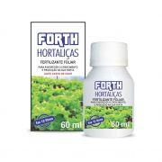 Adubo Fertilizante para Hortaliças - FORTH Hortaliças - 60ml - Faz 12 litros