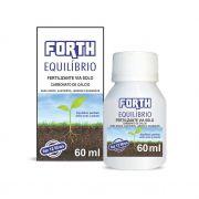 Adubo Fertilizante para Vasos, Canteiros, Jardins e Gramados - FORTH Equilíbrio - 60ml - Faz 12 Litros