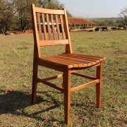 Cadeira de Madeira - modelo Ana Hickman - Peroba Rosa