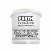 FORTH Raticida Bloco 200g