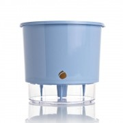 Vaso Autoirrigável Azul Serenity PEQUENO 11,5cm (alt)