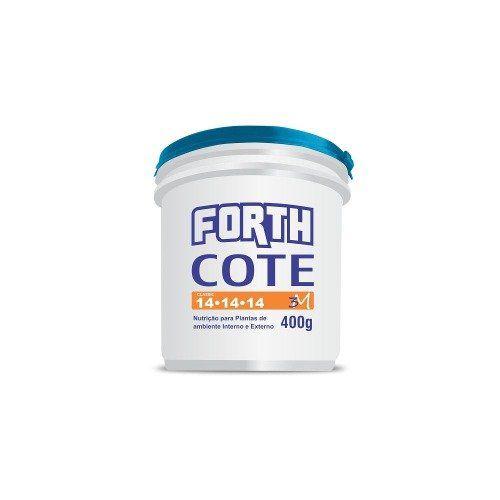 Adubo FORTH COTE 141414 - 400g - Liberação Lenta de Nutrientes - 3 meses