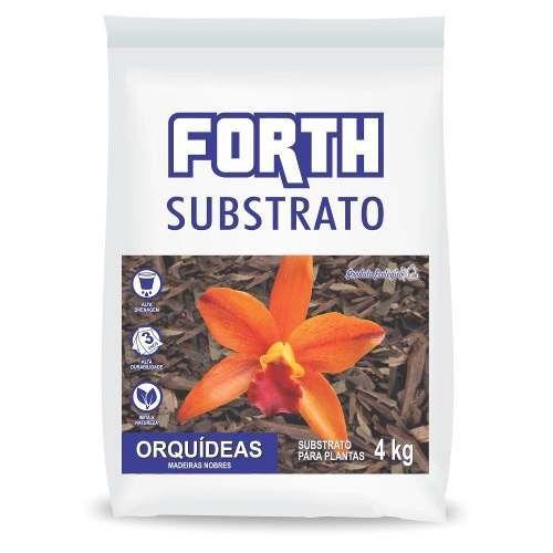 FORTH Substrato de Madeiras Nobres para Orquídeas - 4kg