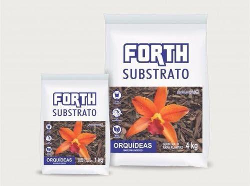FORTH Substrato de Madeiras Nobres para Orquídeas - 1kg