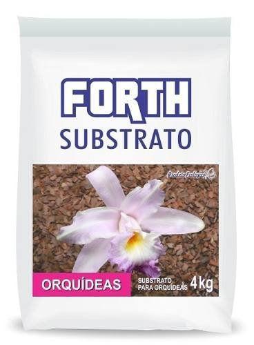 FORTH Substrato de Casca de Pinus e Fibra de Coco para Orquídeas - 4kg