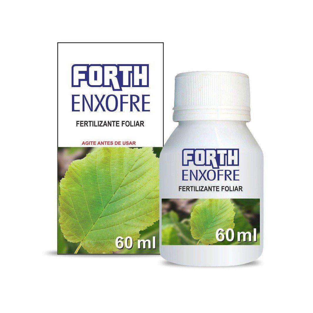 Adubo Fertilizante  - FORTH Enxofre - 60ml