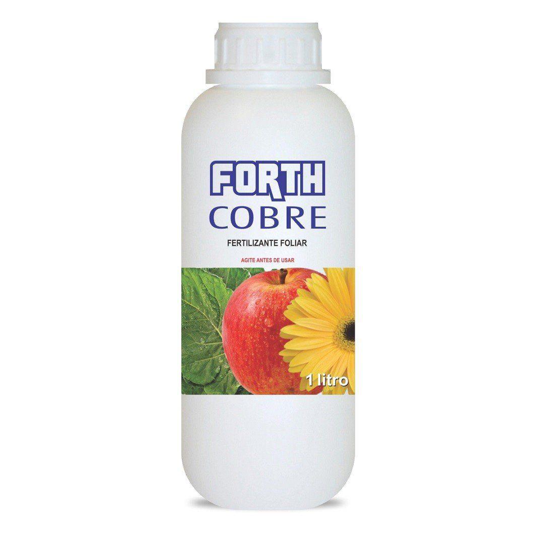 Adubo Fertilizante para Agricultura - FORTH COBRE - 1 Litro